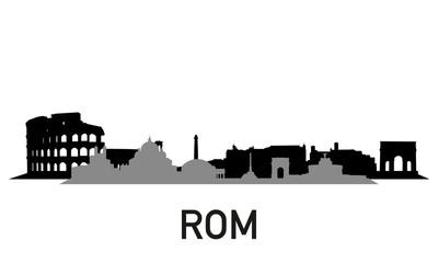 City ~ Stadt ~ Skyline ~ Horizont ~ Silhouette ~ Rom