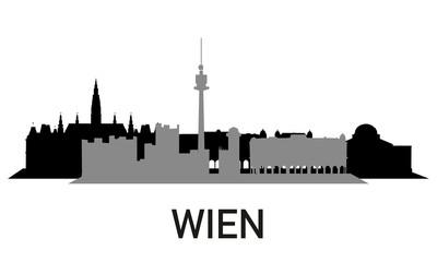 City ~ Stadt ~ Skyline ~ Horizont ~ Silhouette ~ Wien