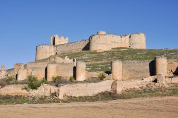 Castillo de Berlanga de Duero, Soria, Castilla y León (España)