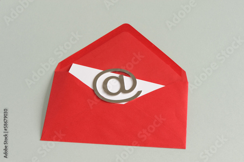 Brief, Post, E-Mail, Mail, At-Zeichen, Symbol, Internet