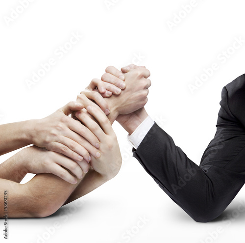 business arm wrestling