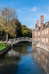 Mathematical Bridge, Cambridge, England