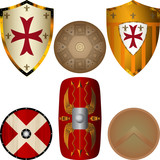 Shields from the Middle Ages