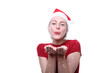weihnachtsfrau glitzer