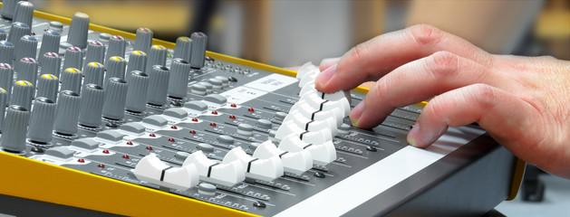 Audio console 6