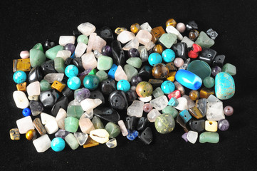 Colored Semi Precious Stones