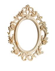 Ornate frame isolated