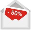 enveloppe -50%
