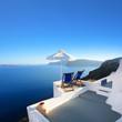 Grèce - Santorin (Terrasse à Oia)