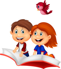 Happy Children riding book