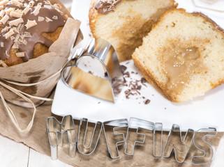 Homemade Caramel Muffin