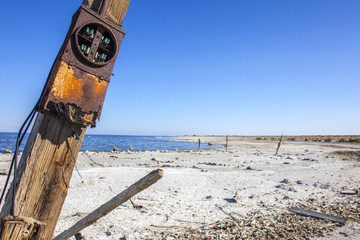 Salton Sea Beach in Kalifornien