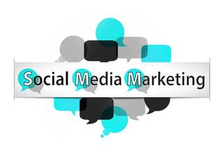 banner & bubbles acronym : SMM  (cs5)