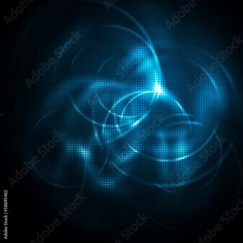 Dark blue shiny design