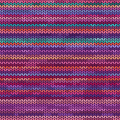 Melange knitted seamless pattern