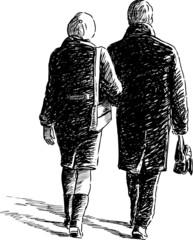 couple at walk