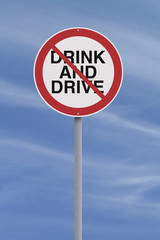 Drinking and Driving Not Allowed