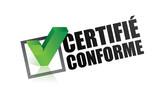 certifié conforme, poster