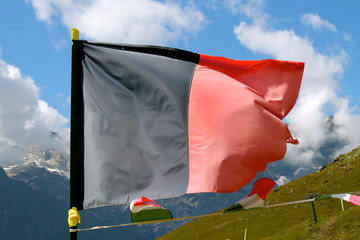 Bandiera Valle d'Aosta
