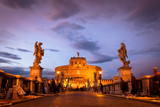 View of Castel Sant'Angelo from the Ponte Sant'Angelo bridge, Ro - 58700023