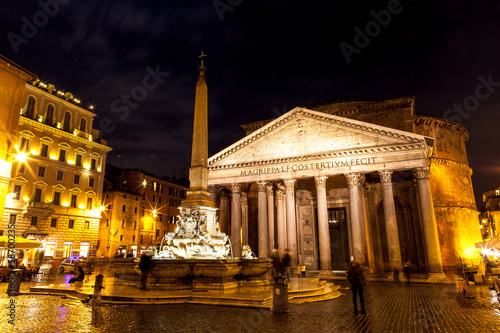 Pantheon at Night, Rome