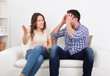 Young Couple Quarreling