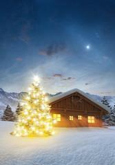 Weihnachten auf der Alm