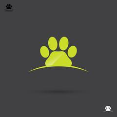 Animal footprint label