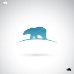 Polar bear label