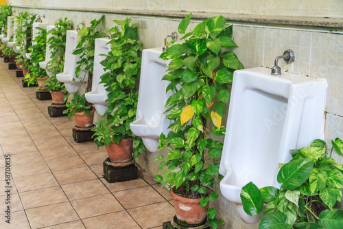 Urinals for men