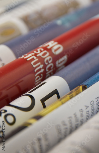 pagine, newspaper, rivista