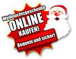 """Siegel """"Weihnachtsgeschenke online kaufen!"""""""