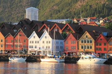 bergen città della norvegia