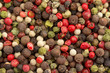 multicolored peppercorn mix