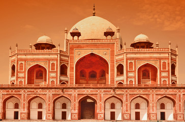 "tomb of Emperor ""Humayun"" in New Delhi, India"