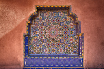 ancienne fontaine marocaine