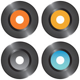 Set vinyl records