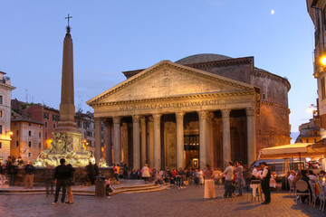 The Pantheon, Roma, Italy