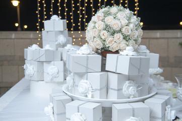 bomboniere nozze allestimento