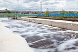 Long exposure of waste water in treatment plant