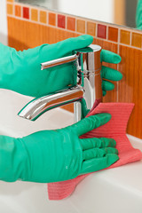Washbasin cleaning