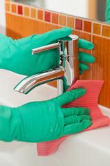 Washbasin cleaning