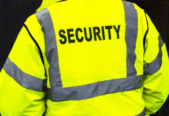 Bright security jacket