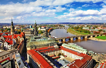 beautiful Dresden,Germany. panoramic view
