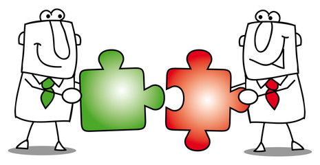 Teamwork-puzzles