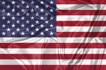 Stofffahne USA
