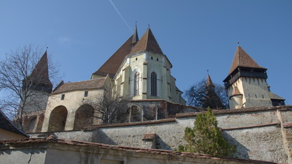 Fortified church of Biertan, Transylvania