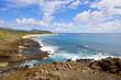 View from Halona, Oahu, Hawaii.