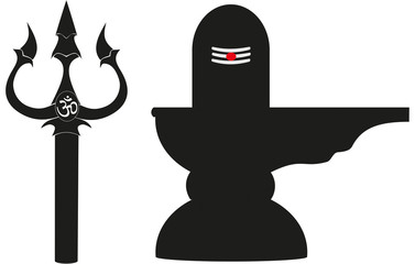 Trishul and Lingam