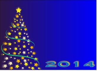 Christmas tree stars 2014